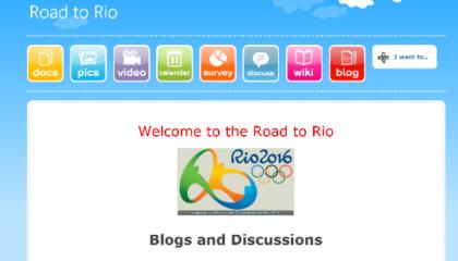 Darren Park Road to RioBlog